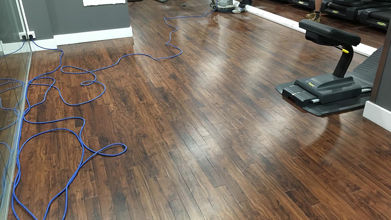 Vinyl Floor Deep Clean