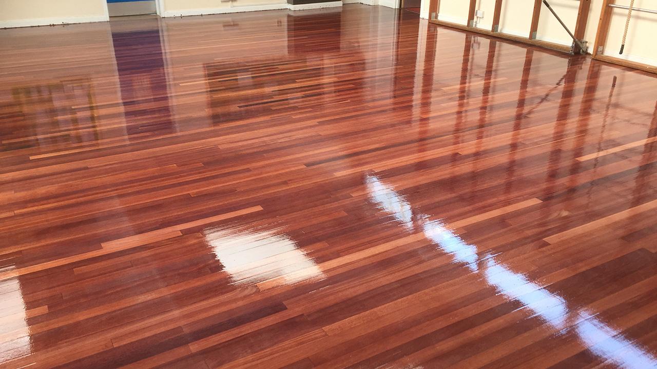 Wood floor restoration ducklington primary school for Wood floor refurbishment