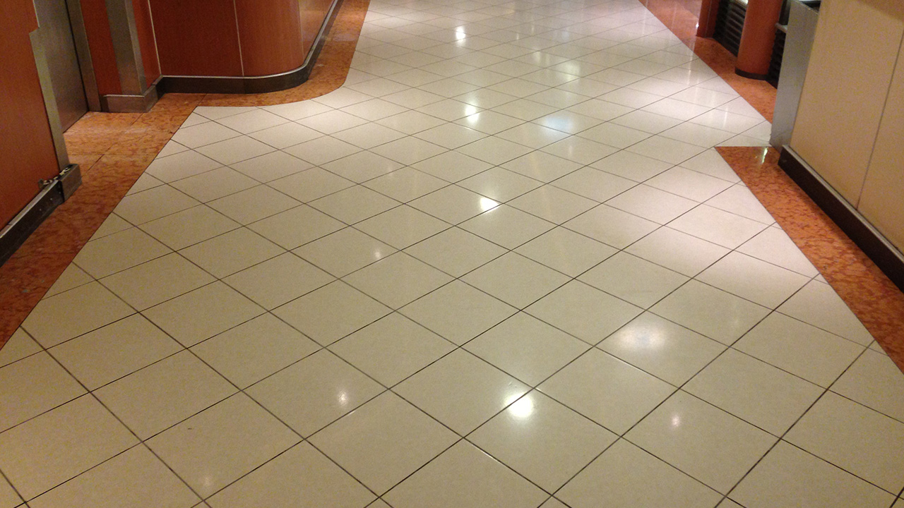 Marble Floor Refinishing : Stone floor restoration on the pride of hull