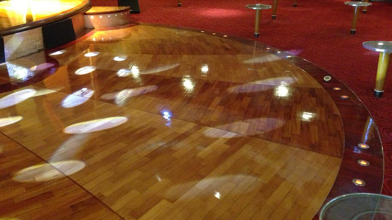 Wood Floor Restoration On The Pride Of Hull