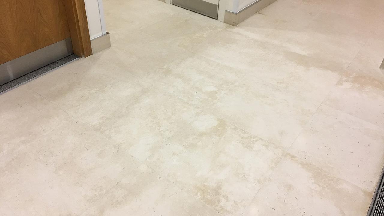 Marble Floor Restoration : Stone floor restoration regina house london renue uk