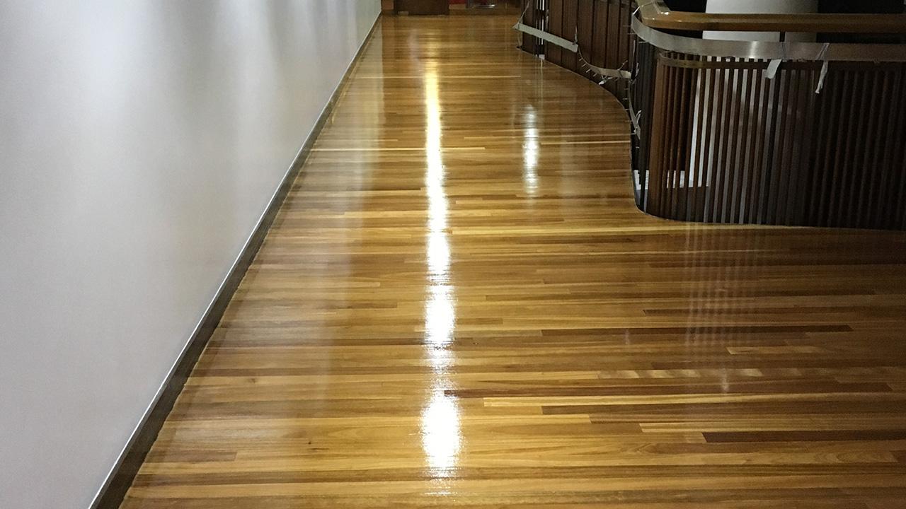 Wood floor restoration tuc renue uk specialist for Wood floor refurbishment