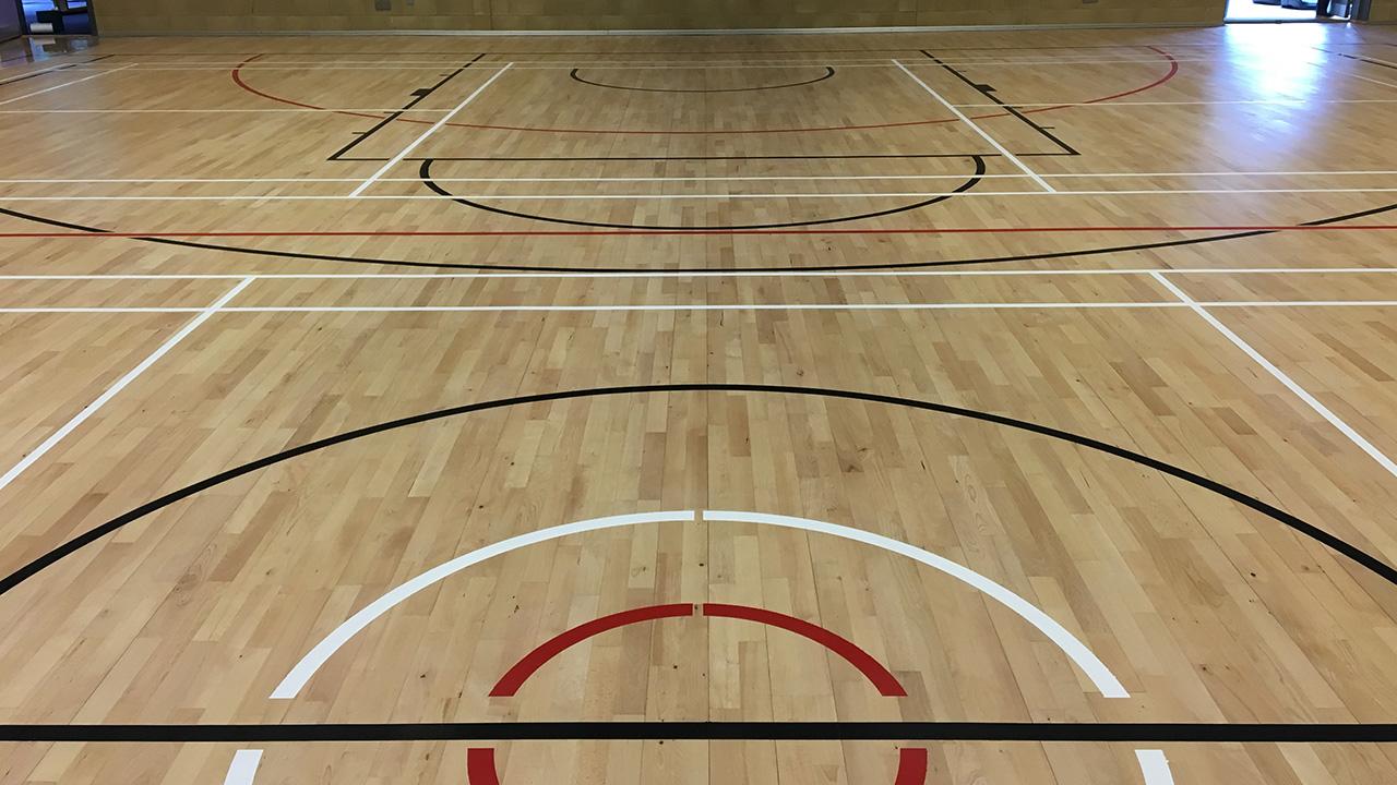 Wood Floor Restoration Thorngrove School Renue Uk