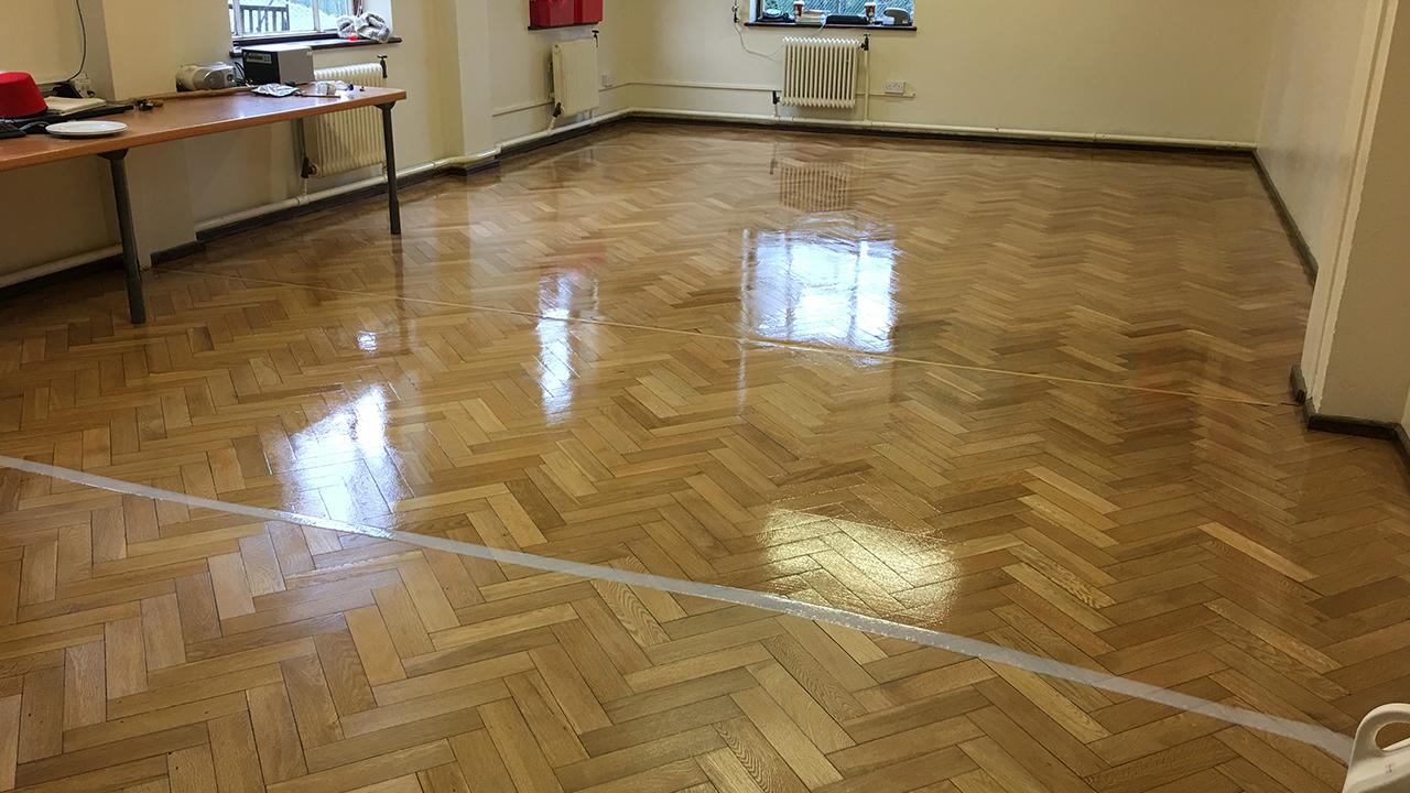 Wood Floor Restoration Walthamstow Hall Junior School