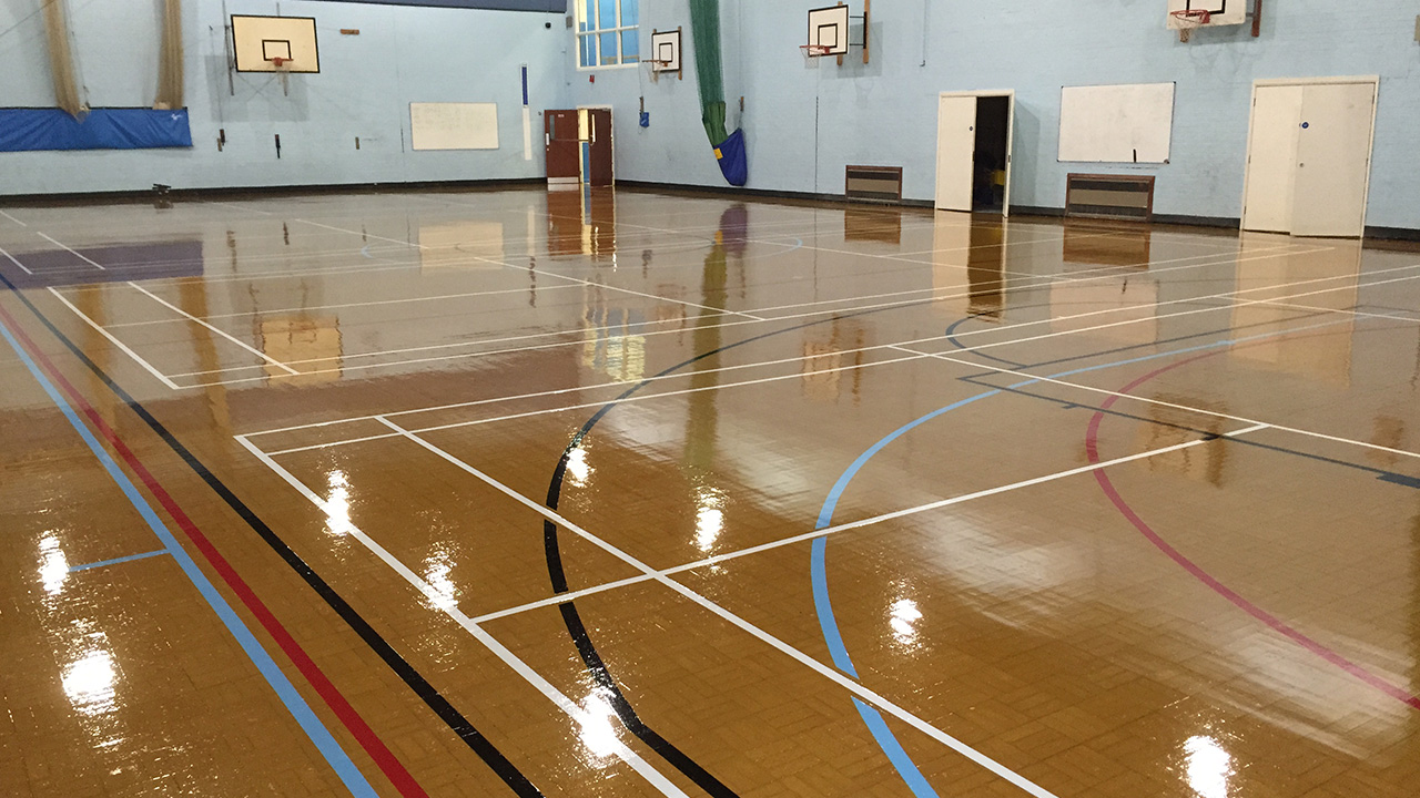 Granwood Refurbishment Of Sports Hall At Brentwood County High