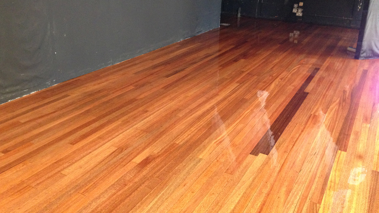 Wood Floor Restoration Birchwood High School Renue Uk