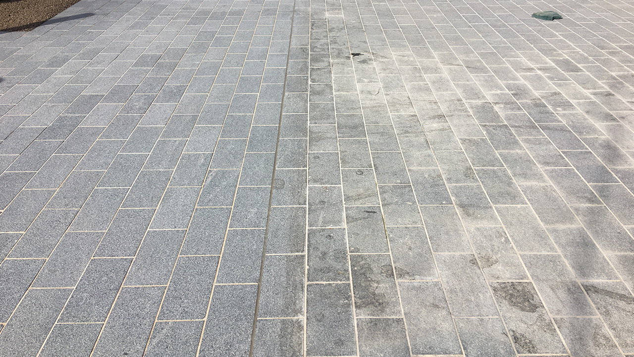 Castle Stone Floor : Stone floor restoration elephant castle renue uk