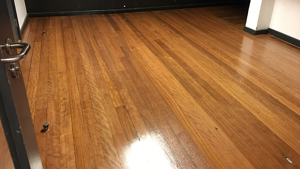 Wood floor restoration gladesmore community school for Wood floor refurbishment