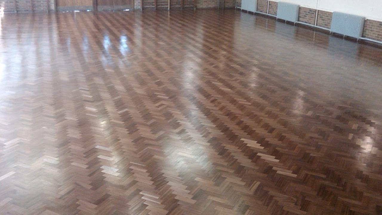 Wood Floor Restoration at Mascalls