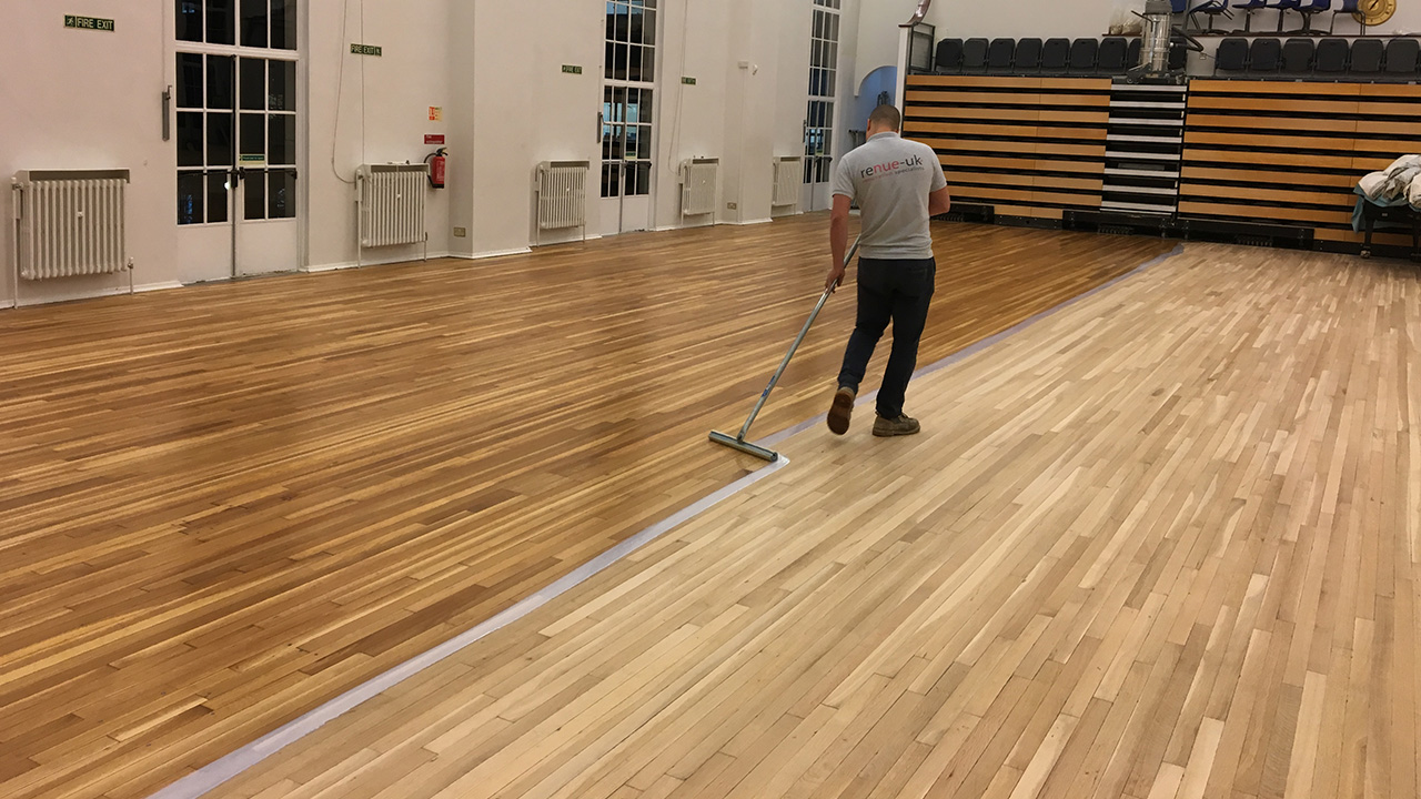 Wood Floor Restoration Nlcs Www Renue Uk Com