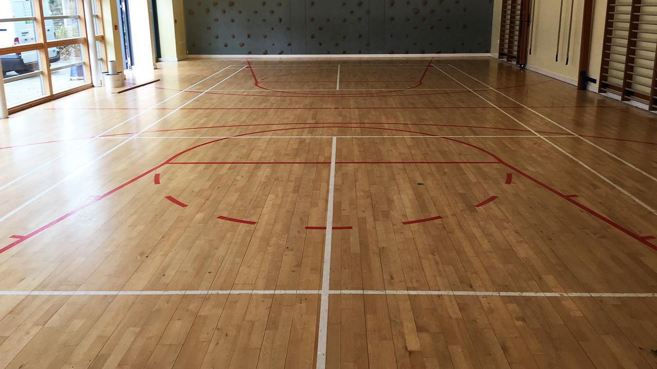 Wood Floor Restoration New College School Renue Uk