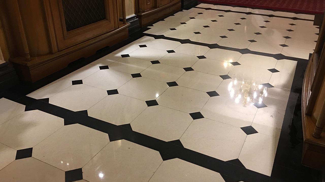 Marble Floor Restoration : Stone floor restoration park street renue uk