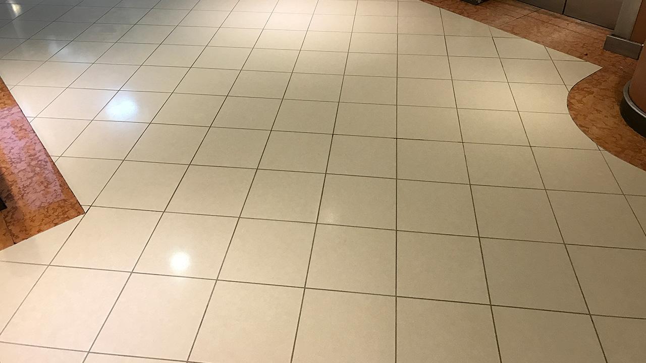 Marble Floor Repair : Stone floor restoration pride of hull renue uk