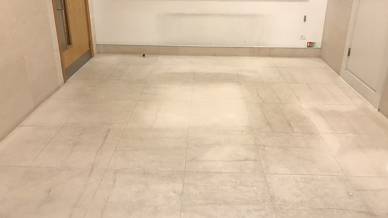 Marble Floor Repair : Stone floor restoration regina house london renue uk