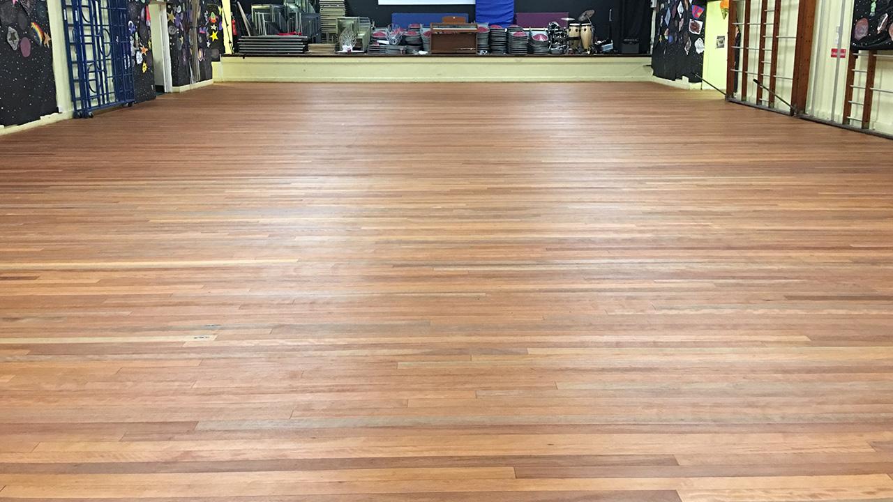 Wood Floor Restoration Reigate Priory School Renue Uk
