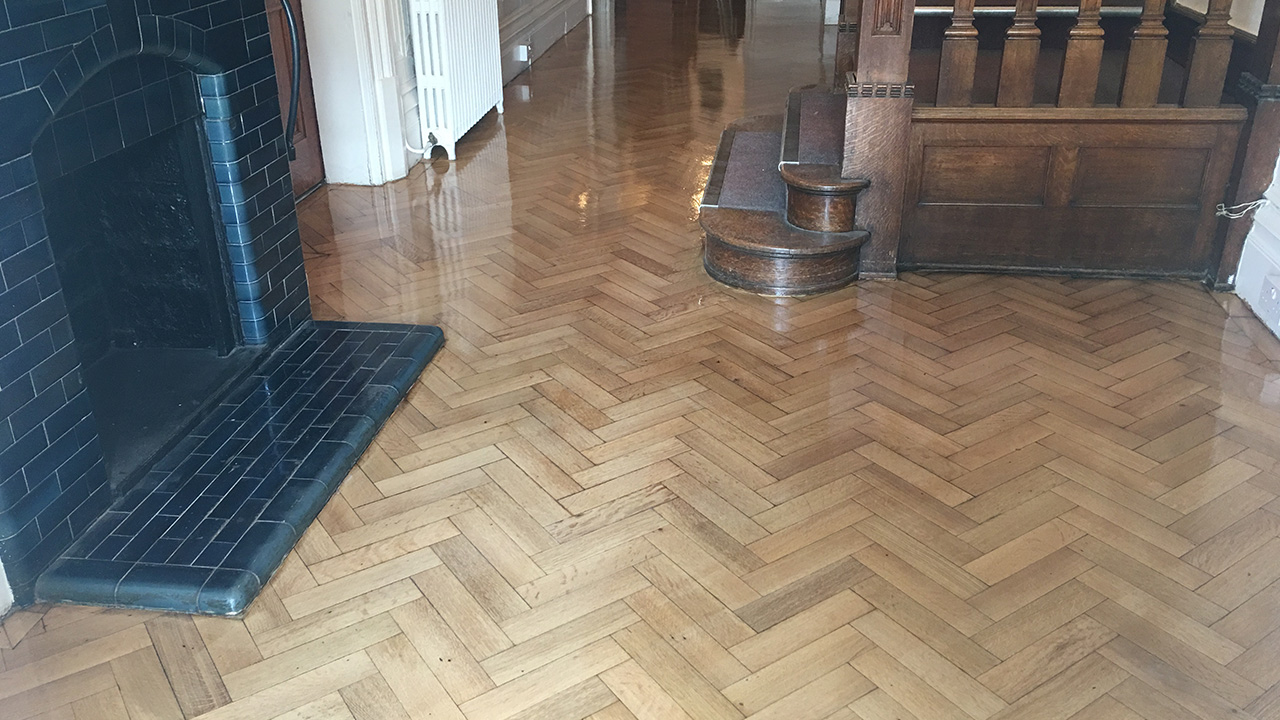 Wood Floor Restoration Walthamstow Hall Junior School