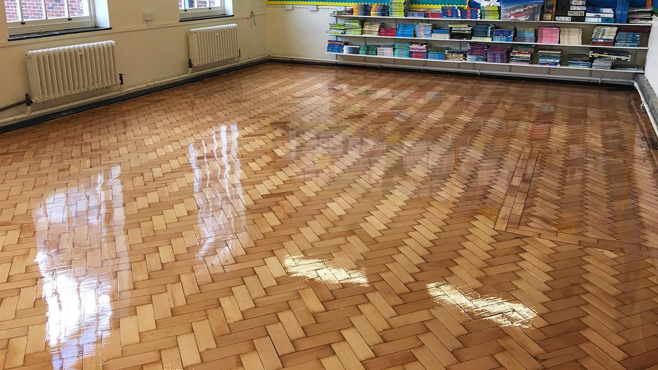 Wood Floor Restoration Walthamstow Hall Www Renue Uk Com